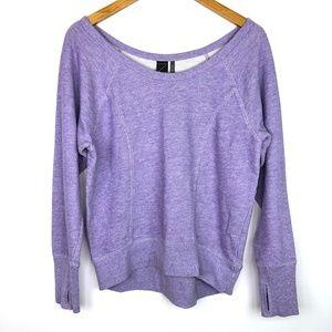 🎃 Z by Zella Lavender Purple Crew Neck Sweatshirt